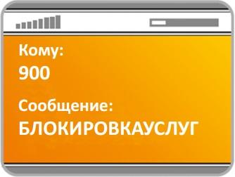 Блокировка мобильного банка