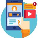 Узнать статус через мобильное приложение