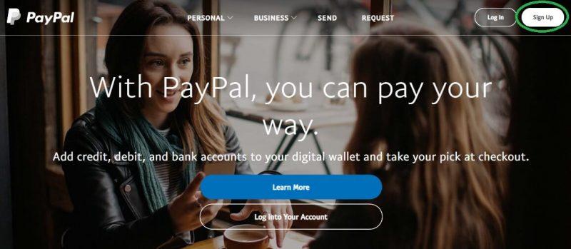 Как завести американский paypal-кошелек из России: шаг 2