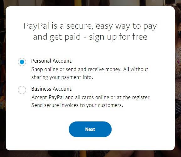 Как завести американский paypal-кошелек из России: шаг 3